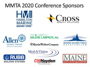 Logos for conference sponsors